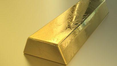 Gold auf Geld und Meer